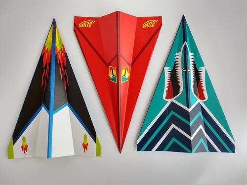 Kit Aviones Origami Gluep (paquete)