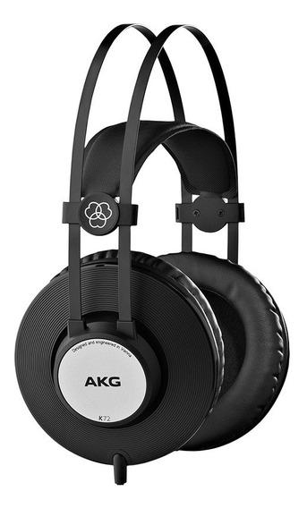 Fone Ouvido Akg K72 Studio Dj Melhor Que Akg K52 Headphone