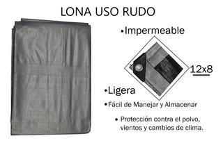 Lona Reforzada 12x8 Impermeable, Toldo, Cortina Etc.