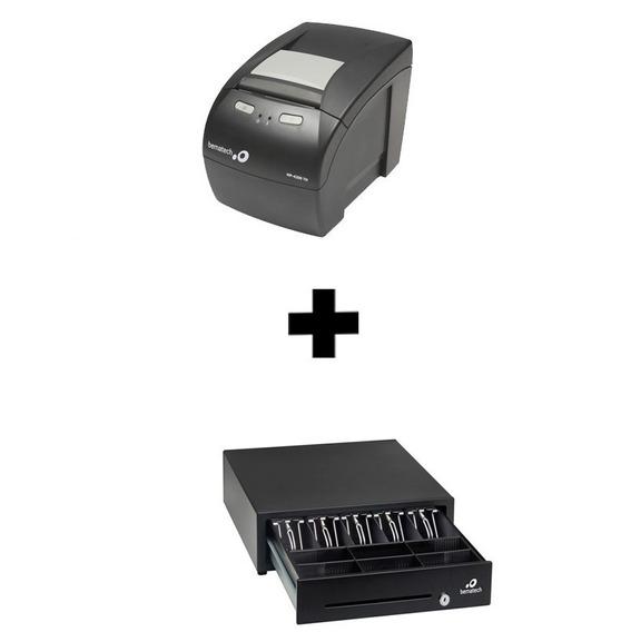 Kit Impressora Não Fiscal + Gaveta De Dinheiro Bematech