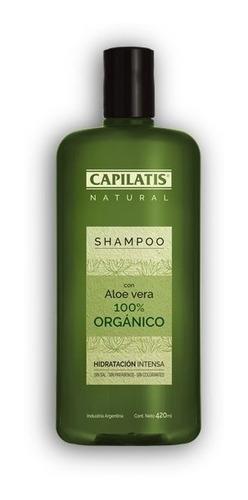 Imagen 1 de 2 de Shampoo Con Aloe Vera 100% Orgánico
