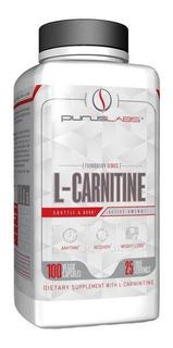 L Carnitina Purus Labs Importado 100 Caps Carnitine Original