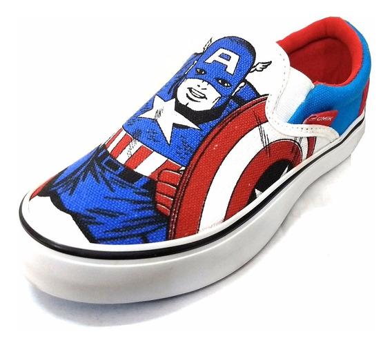 Panchas Atomik Marvel Capitán América