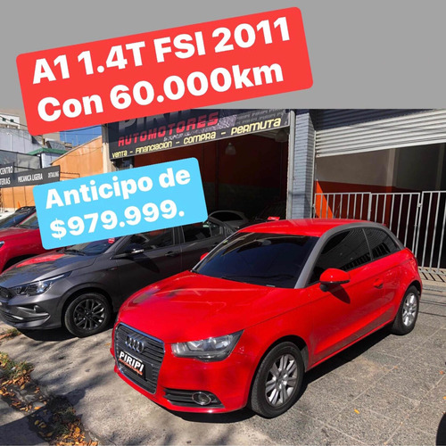 Audi A1 1.4 Ambition Tfsi 122cv Stronic 2011,$979.999 Y Ctas