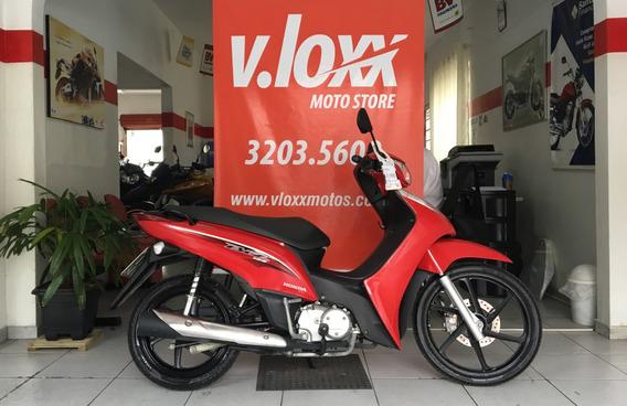Honda Biz 125 Ex Vermelha 2016