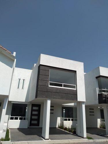 Hermosa Casa A Estrenar En San Mateo Atenco, Salidas Rapidas