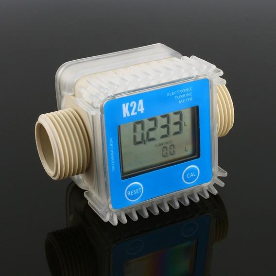 Medidor Digital Fluxo Água-diesel-óleo-gasol-pronta Entrega