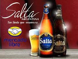 Cerveza Salta Rubia Y Negra De L. $ 96