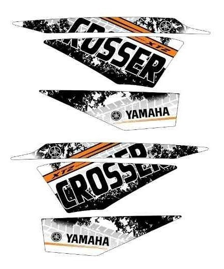 Kit Adesivo Faixa Crosser Xtz 150 Personalizado Yamaha