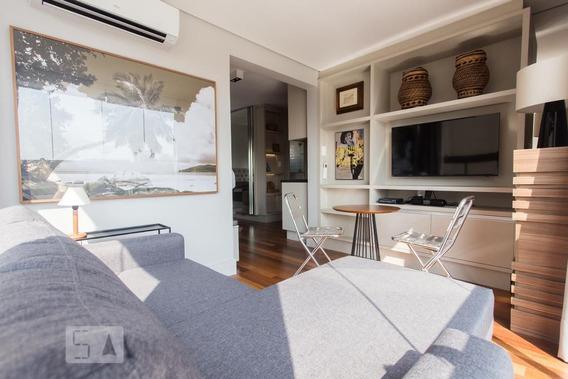 Apartamento No 13º Andar Com 1 Dormitório E 1 Garagem - Id: 892815240 - 115240