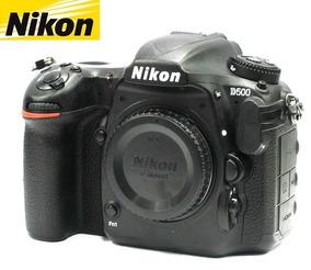 Câmera Nikon D500 20mp Vídeo 4k - Corpo - Só 3.939 Clicks