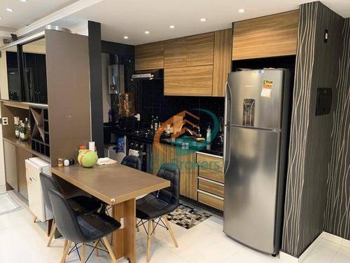 Imagem 1 de 9 de Apartamento Com 2 Dormitórios À Venda, 61 M² Por R$ 450.000 - Vila Endres - Guarulhos/sp - Ap1721
