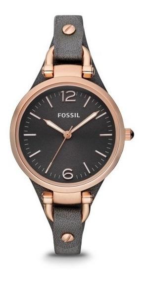 Reloj Fossil Es3077 Para Mujer Correa De Piel