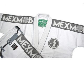 Gi Jiu Jitsu Brasileño Kimono Mexmob A3 Temoc Envio Gratis