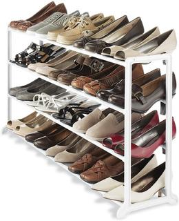 Zapatero Elegante Organizador De Zapatos Minimalista 20 Par