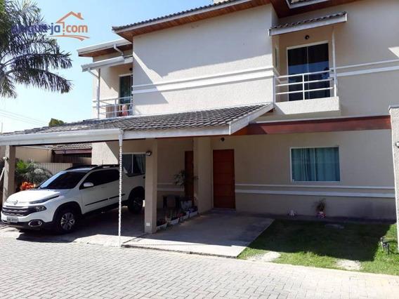 Sobrado Com 4 Dormitórios À Venda, 192 M² Por R$ 580.000 - Jardim Santa Maria - Jacareí/sp - So0900