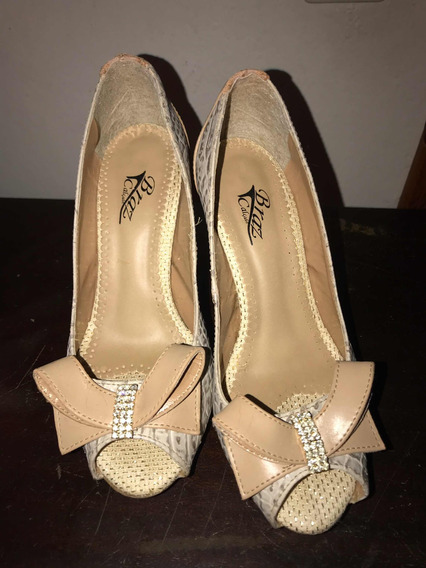 Sapato Peep Too