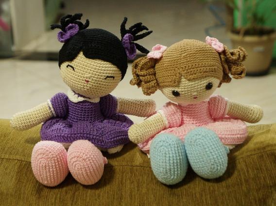 Boneca Amigurumi De Croche, Artesanato, Brinquedo