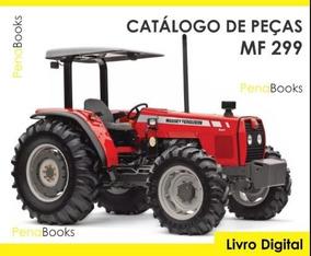 Catálogo De Peças Trator Massey Ferguson Mf 299