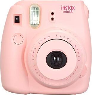 Cámara Instantánea Fujifilm Instax Mini 8 Rosada Original