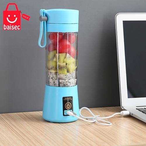 Imagem 1 de 5 de Mini Liquidificador Portátil Shake Take Juice Cup 4 Lâminas