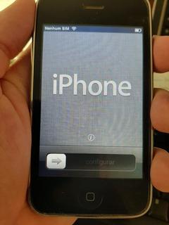 iPhone 3gs, Funcionando, Botão Home Com Defeito