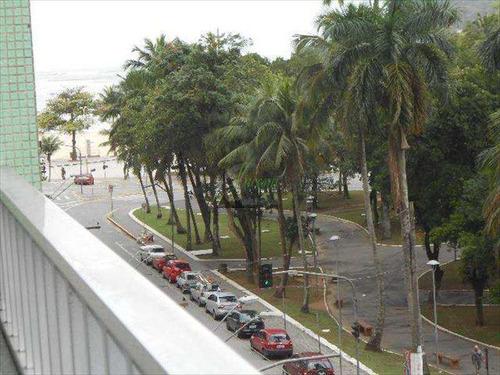 Imagem 1 de 14 de Apartamento 2 Dormitórios De Frente Biquinha São Vicente - V6096