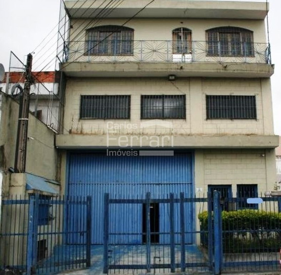 Excelente Galpão No Jardim Brasil/ Jaçanã Com 517m2 Trifásico - Cf14109