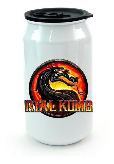 Lata De Aluminio Con Tapa Mortal Kombat