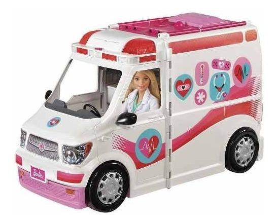 Barbie Ambulância Real Hospital Movel Mattel - Frm19