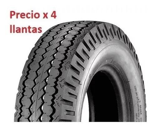 Llanta (cuatro) Torito Motocarro Mototaxi Moto Raton 4.00 8