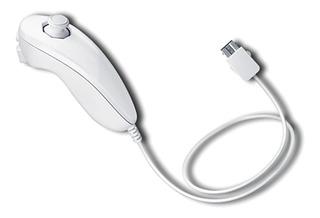 Control Nunchuk Para Wii Y Wii U Color Blanco