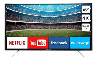 Smart Tv 60 Pulgadas 4k Rele-60uhd Recco Netflix You Tube