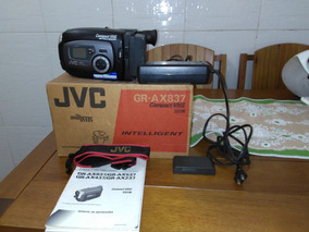 Filmadora Jvc / Panasonic Gr-ax837, Vhs C/ Carregador.
