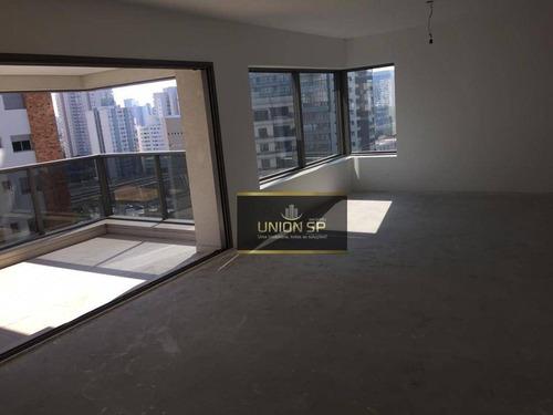 Apartamento Com 3 Dormitórios À Venda, 192 M² Por R$ 3.400.000,00 - Campo Belo - São Paulo/sp - Ap40648