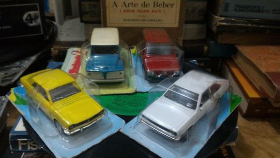 Coleção Carros Nacionais 2, Miniatura Escala 1/43. Lacrados.