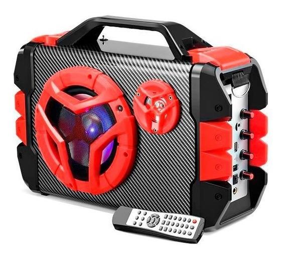 Caixa De Som Bluetooth 100w Multilaser Sp250 Controle Remoto