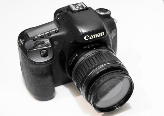 Câmera Digital Canon Eos 7d / Lente Efs 18-55mm F 3.5-5. 6