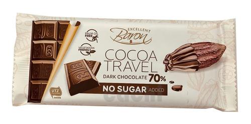 Chocolate Baron Dark Sin Azucar 90gr