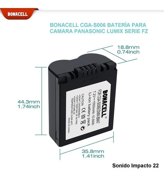 Bateria Cga-s006 Para Camara Panasonic Lumix Serie Fz