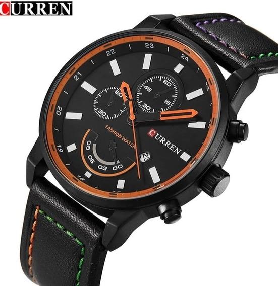 Relógio Masculino Curren Original Promoção Oferta C.108