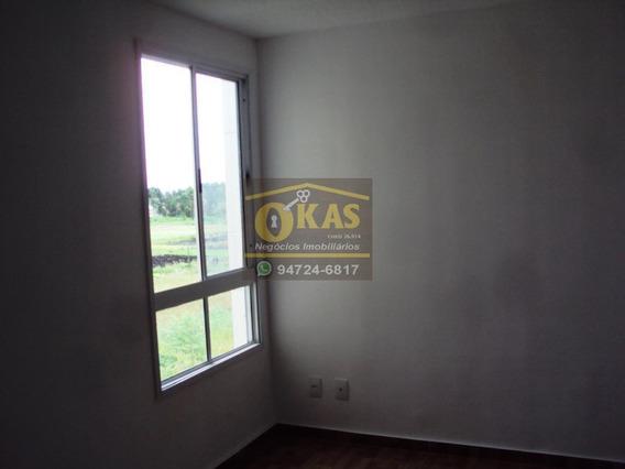 Apartamento Para Locação Em Suzano, Parque Santa Rosa, 2 Dormitórios, 1 Banheiro, 1 Vaga - Ap0137_1-1424846