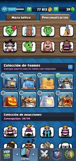 Set Figuras Emotes Clash Royale Cuñete 1