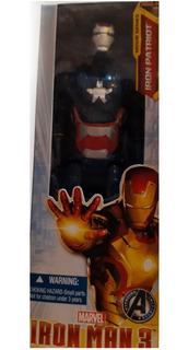 Muñeco Avengers Iron Patriot 30 Cm