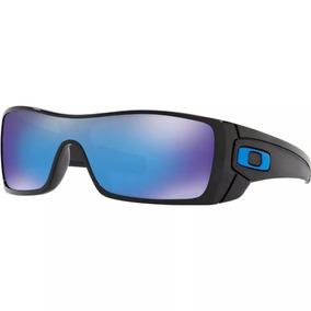dca1a45a2 Oakley Batwolf Oo9101 Azul Morado Espejo Polarizado Negro