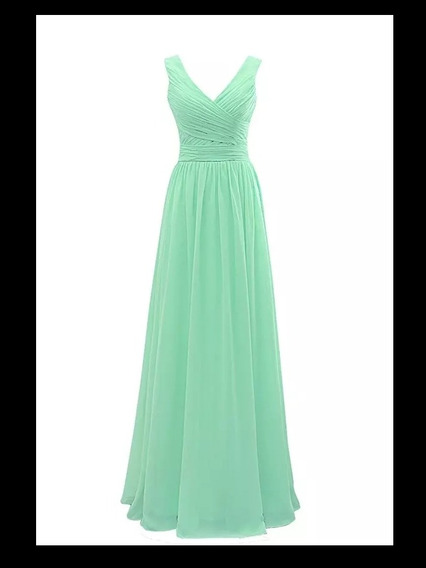 Vestido Noche Varios Colores Disponibles En Tallas Extra Alb-181103001