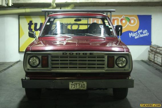 Dodge Ram Pick-up Camioneta Pick Up