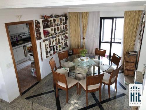 Imagem 1 de 26 de Cobertura À Venda, 185 M² Por R$ 1.600.000,00 - Vila Gumercindo - São Paulo/sp - Co0158
