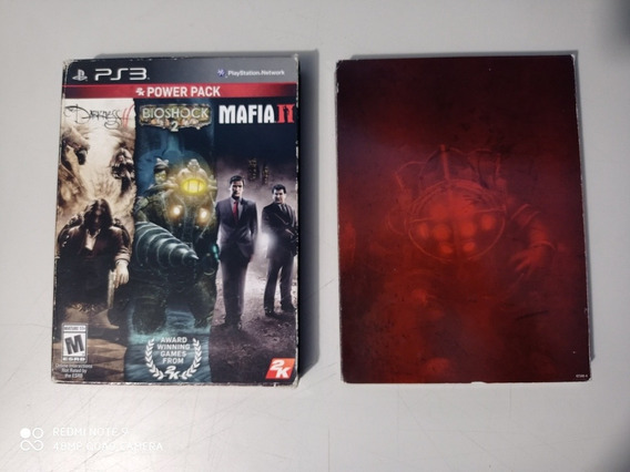 Power Pack Ps3 The Darkness 2 / Bioshock 2 / Máfia 2