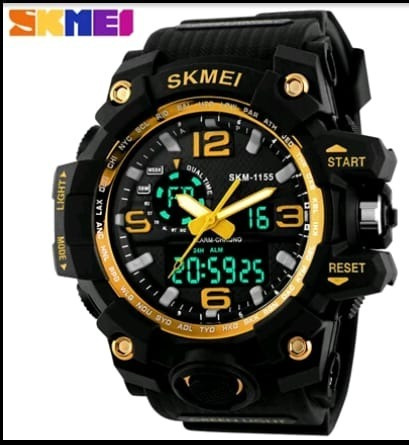 Relógio Skmei 1155 Masculino Á Prova D`água Militar Sport